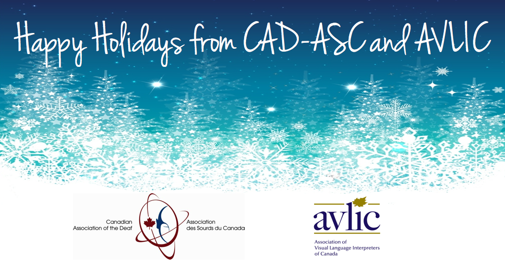 Happy Holidays from CAD-ASC and AVLIC