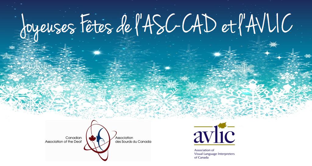 Joyeuses Fêtes de l'ASC-CAD et l'AVLIC