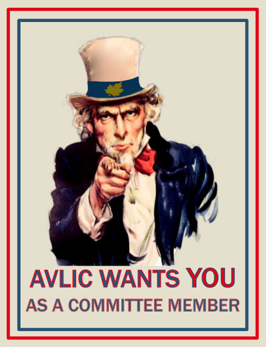 AVLIC WANTS YOU!